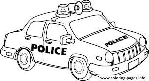 Police Car Coloring Page Police Coloring Pages Cop Car For Kids