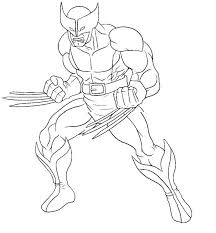 Coloring Superhero Teen Superhero Coloring Pages For Toddlers