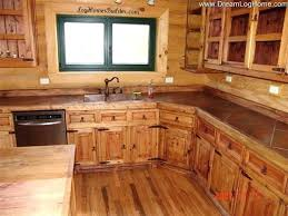 cabin cabinets kitchen log kitchen cabinets charming on inside simple imposing 7 log kitchen cabinets cabin