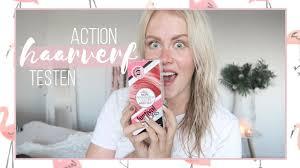 Action Roze Haarverf Proberen Rebecca Denise