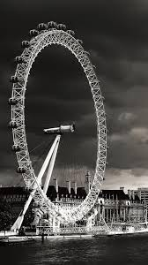 iphone 6 wallpaper hd black and white. Delighful White London Eye Black And White IPhone 6 Plus HD Wallpaper With Iphone Hd D