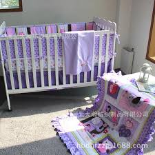series of three dimensional pattern purple princess baby bedding eight sets quilts bed around bed skirts etc kids sheets boys girl kids bedding from