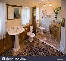 Houses Edwardian Arts And Crafts House Oak Panelled Bathroom - Edwardian house interior