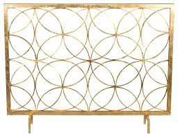 antique gold fireplace screen golden branch and log holder circles fire contemporary screens rose decorative twig fire screen gold fireplace