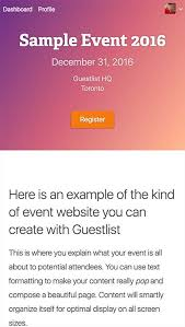 Guestlist Pricing, Features, Reviews & Comparison Of Alternatives ...