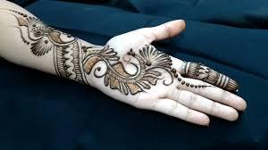 Front Hand Mehndi Design Simple Easy Mehndi Designs And Patterns For Raksha Bandhan 2019