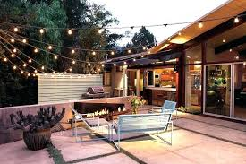 patio string light ideas outdoor lighting on how to hang lights the deck