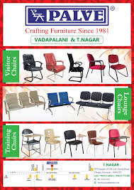 Palve Chairs Vadapalani Chair Dealers In Chennai Justdial