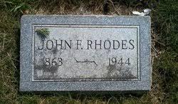 John Franklin Rhodes (1863-1944) - Find A Grave Memorial