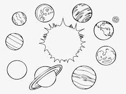 Solar System Color Page Printable Solar System Coloring Pages For