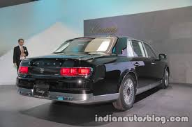 2018 toyota century. beautiful century 2018 toyota century rear three quarters right side at 2017 tokyo motor show to toyota century t