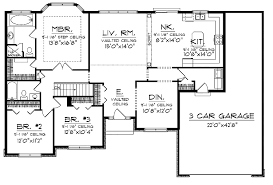 ranch house floor plans. Rancher Floor Plans Basic Ranch House N