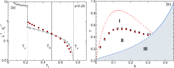 a) Numerical results for the inverse localization length λ⁻¹(Tf ...