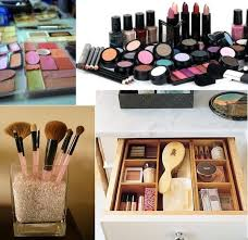 5 tips ideas for organizing your makeup