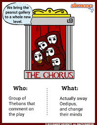 the chorus in oedipus the king character analysis
