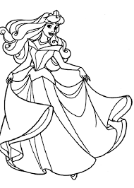 Small Picture Free Printable Sleeping Beauty Coloring Pages For Kids