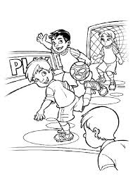 Soccer Coloring Pages Printable Skill Coloring Pages Football