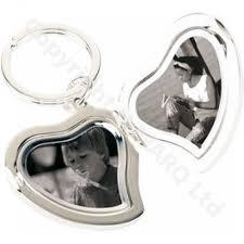 locket size photos silver locket heart keyring silver plated photo locket heart