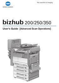 Find everything from driver to manuals of all of our bizhub or accurio products. Konica Minolta Bizhub 200 User Manual Pdf Download Manualslib