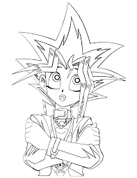 In this tutorial that i made i show you how to print actual sized cards it could be yu gi oh or whatever what you. Printable Yugioh Coloring Pages Super Kins Author