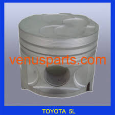 China used diesel engines toyota 3L 5L 2Z piston parts 13101-54100 ...