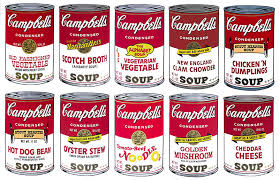 Warhol Campbell S Soup Cans Pop Art Adult Coloring Pages
