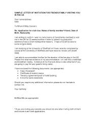 Sample Invitation Letter Korean Embassy Best Letter Format