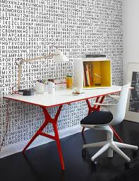 Geeks home office workspace Apple Wallpaper Desk u003d Perfect Howto Geek Wallpaper For The Stylish Geek Home Office Pinterest Home