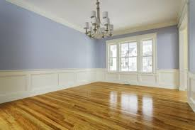 custom home interior with wood flooring