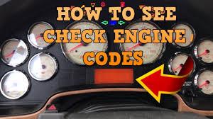 Warn Engine Light International 4700 How To See The Check Engine Codes International Prostar