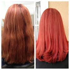 Matrix Red Colour Chart Red Brown Red Hair Color Chart