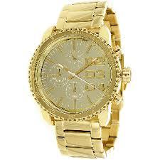 michael kors diesel hugo boss lacoste and more men design ladies franchise chronograph watch in gold diesel
