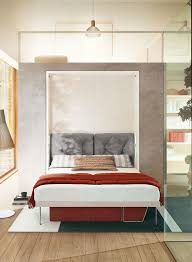 the penelope 2 is a sophisticated queen size wall bed from the clei collection this elegant space saving murphy bed offers you a modern solution to