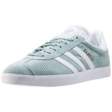 adidas gazelle womens. adidas gazelle womens green suede \u0026 synthetic casual trainers lace-up new style
