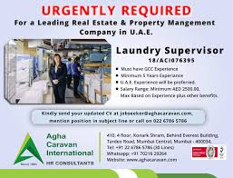 Urgently Required For A Leading Real Estate Property