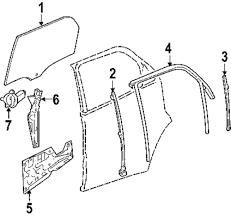 Genuine chevrolet window regulator che 19210260