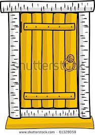house door clipart. Doorway Clipart Cute Door - Pencil And In Color . House