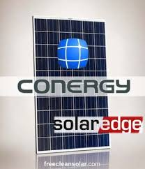 kw solar kit conergy pe p panels solaredge inverters 3kw solar kit conergy pe 300p solaredge inverters optimizers