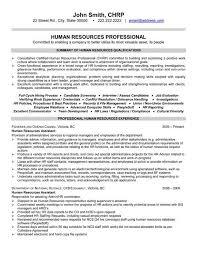 Sample Hr Resumes Sample Resume Letters Job Application