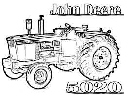 John Deere Tractors Coloring Pages — FITFRU Style : John Deere ...