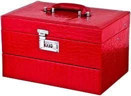 <b>Шкатулка</b> для украшений <b>Lefard</b>, 362-108, красный, 33 х 21,<b>5</b> х 21 ...