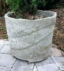 large cement planters. Large Cement Planters Concrete Garden Urns Pots Making E