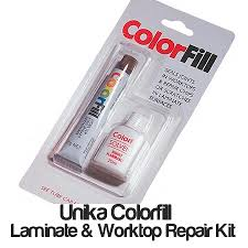 Unika Colorfill Laminate U0026 Worktop Scratch Repair Sealant Kit