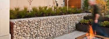 Small Picture Gabion Landscaping Stone wall ideas Gabion1 UK