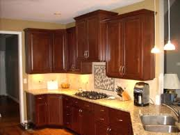 Oak Kitchen Cabinets With Black Knobs Crystal Door And Pulls For ...
