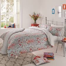 single duvet cover paisley duck egg 100 cotton tap to expand