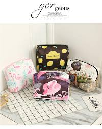 2018 fashion high quality lady makeup pouch cosmetic make up bag men clutch hanging toiletries travel kit jewelry organizer cal purse