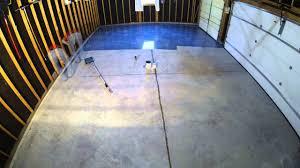 valspar garage floor application