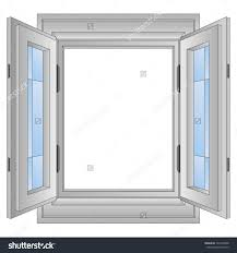 school window clipart. Aluminium Window Stock Photos Images Pictures Shutterstock Isolated Open Frame Vector Illustration. Interior Design Courses School Clipart