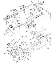 2002 chrysler town country suspension rear diagram 00i60010